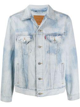 Levi's джинсовая куртка с эффектом потертости 77380