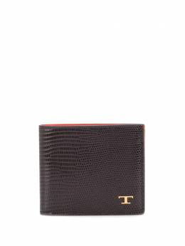 Tod's lizard skin-effect two-toned wallet XAMTSIC0300NGE2P92