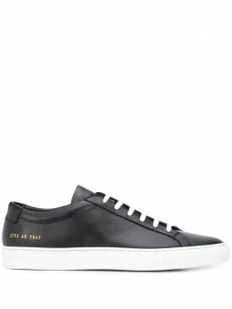 Common Projects two tone low top sneakers 2253ACHILLESLOW