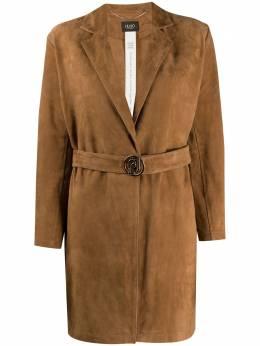 Liu Jo leather open front jacket PA0121P0338