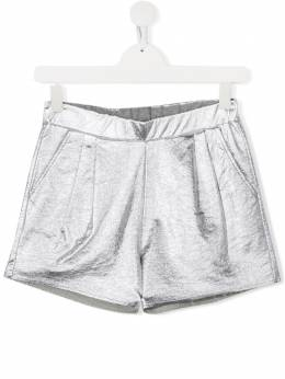 Douuod Kids TEEN fitted stretch shorts FC012211