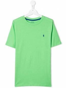 Ralph Lauren Kids футболка с круглым вырезом 703638014