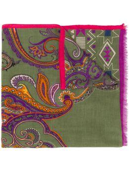 Etro paisley-print scarf 117775035