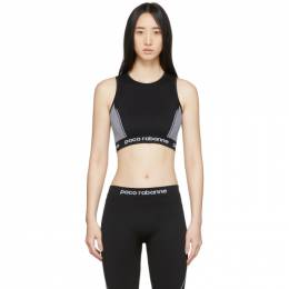 Paco Rabanne Black Bodyline Sports Bra 19EJTO004PA0135