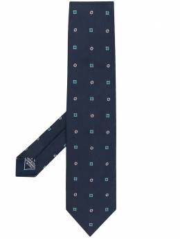 Brioni silk embroidered tie O61D00P941J