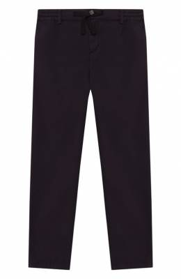 Хлопковые брюки Dolce & Gabbana L43P32/G7VQR/8-14