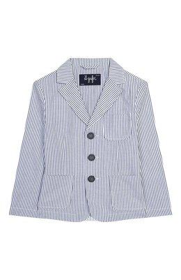 Хлопковый пиджак Emporio Armani 3H4GJ5/4N3NZ