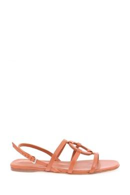 Коричневые сандалии из кожи Loro Piana 672183228