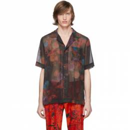 Dries Van Noten Black Floral Carltone Shirt 20708-9083-900