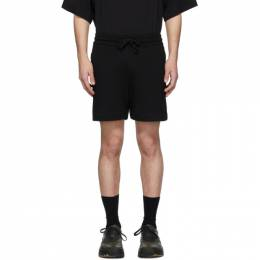 Dries Van Noten Black Hestala Lounge Shorts 21150-9615-900