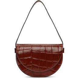 Staud Red Croc Amal Bag 180-9203-COG