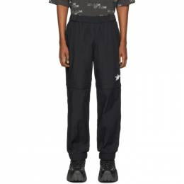 We11Done Black WD Logo Tracksuit Trousers WD-PT6-20-035-M-BK