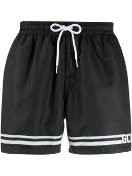GCDS плавки-шорты с логотипом CC94M050001
