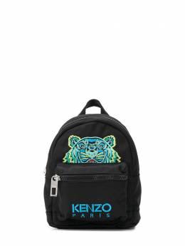 Kenzo Mini Tiger Canvas backpack F855SF301F20