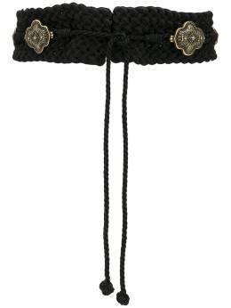 Etro плетеный ремень с металлическими пряжками 1N1052268
