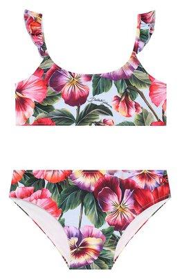 Раздельный купальник Dolce&Gabbana L5J817/FSGRZ/2-6