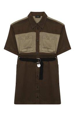 Хлопковое платье Diesel 00J4TY-KXB20