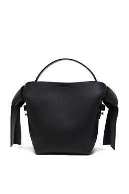 Черная сумка Musubi Acne Studios 876182860