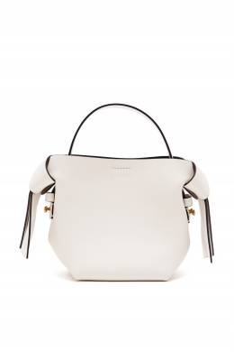 Белая сумка Musubi Acne Studios 876182865