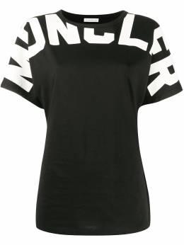 Moncler футболка с короткими рукавами и логотипом 8C70710V8094
