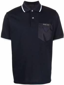 Prada contrasting pocket polo shirt UJN617S2011VT8