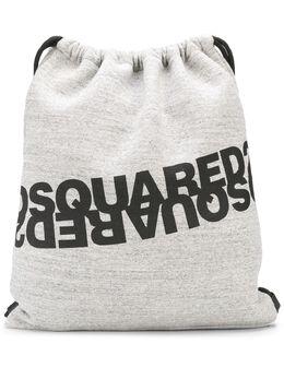 Dsquared2 рюкзак из джерси с логотипом BPM003516702628