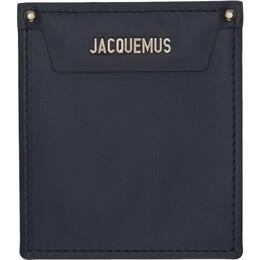 Jacquemus Navy Le Porte Poche Wallet 205AC20-205 58390