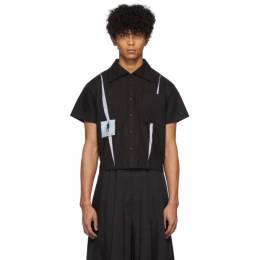 Keenkee Black Kindergarten Short Sleeve Shirt SS20WS05-LY-2