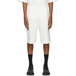 3.1 Phillip Lim Off-White Poplin Washed Shorts S202-5361WPOM