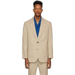 3.1 Phillip Lim Beige Wool 2-Button Blazer S201-6406WPLM