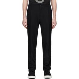 Salvatore Ferragamo Black Pique Trousers 142951 0725118