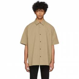 Acne Studios Beige Shepton Short Sleeve Shirt BB0211