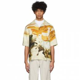 Acne Studios Off-White Simon Short Sleeve Shirt BB0180