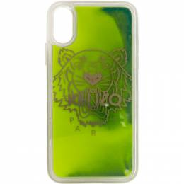 Kenzo Yellow and Green Glow-In-The-Dark iPhone X/XS Case FA5COKIFXSAN