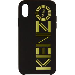 Kenzo Black and Yellow Paris iPhone X/XS Case FA5COKIFXKMP