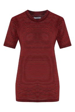Удлиненная полосатая футболка Isabel Marant Etoile 958111331