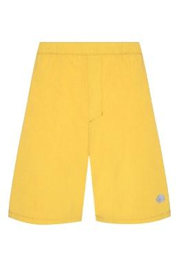 Желтые плавки с логотипом The North Face 2717120475