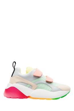 Комбинированные кроссовки Stella McCartney 193130094