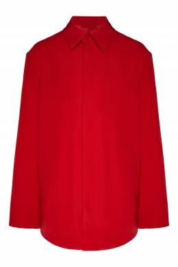 Красная рубашка оверсайз Balenciaga 397132307