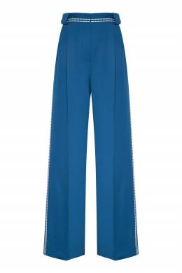 Широкие брюки из шерсти Fendi 1632180755