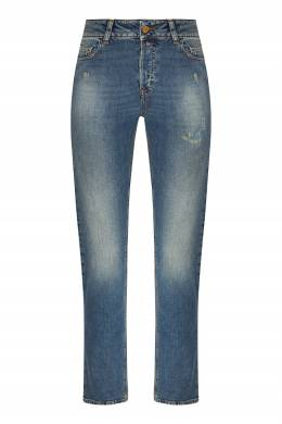Синие эластичные джинсы Emporio Armani 2706184015