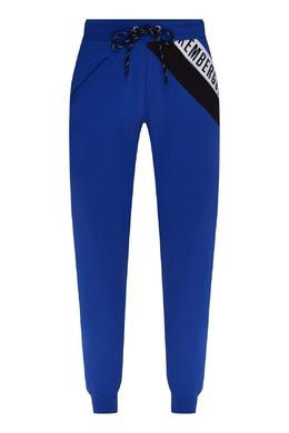 Синие спортивные брюки Bikkembergs 1487183419
