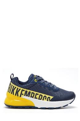 Сине-желтые кроссовки Bikkembergs 1487183523