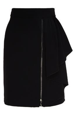 Черная юбка с молнией Emporio Armani 2706184011