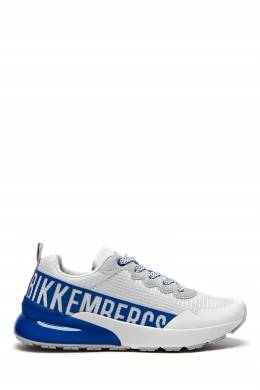 Бело-синие кроссовки Bikkembergs 1487183431