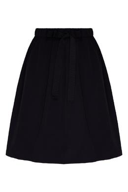 Темно-синяя мини-юбка Emporio Armani 2706184009