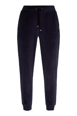 Темно-синие спортивные брюки Emporio Armani 2706184008