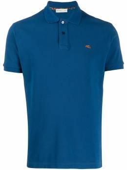 Etro embroidered logo polo shirt 1Y1409240