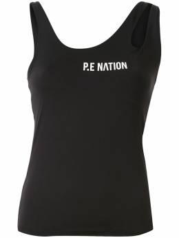 P.E Nation топ без рукавов из джерси 20PE1W102