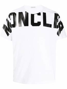 Moncler футболка с логотипом F10918C704108390T